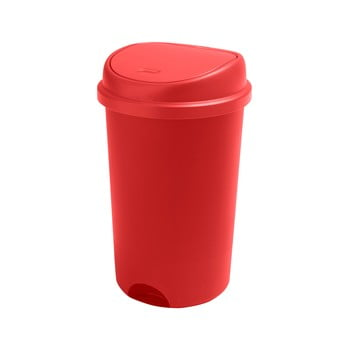 Coș de gunoi cu capac Addis, înălțime 64,5 cm, roșu poza bonami.ro
