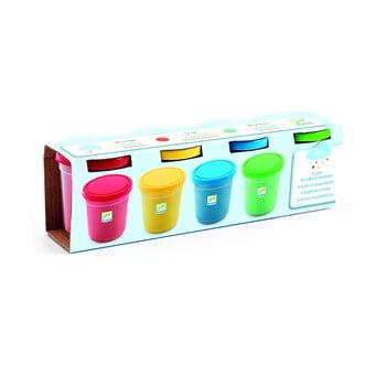 Set plastilină 4 culori Djeco, 560 g poza bonami.ro