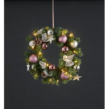 Coroniță cu LED Best Season Noel, ⌀ 40 cm poza bonami.ro