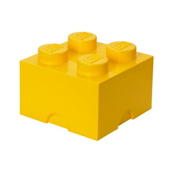 Cutie depozitare LEGO®, galben bonami.ro