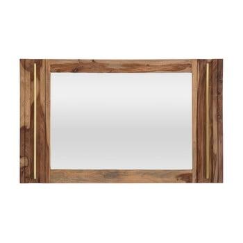 Oglindă din lemn sheesham Mauro Ferretti Elegant imagine