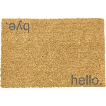 Covoraș intrare Artsy Doormats Hello Bye, 40 x 60 cm , gri poza bonami.ro