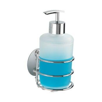Dozator autoadeziv pentru săpun lichid Wenko Turbo-Loc, maxim la 40 kg bonami.ro