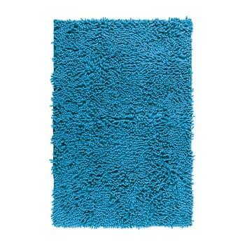 Covor baie Wenko Chenille, 80x50cm, albastru bonami.ro