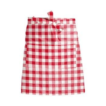 Șorț textil Linen Couture Delantal de Lino Red Vichy bonami.ro