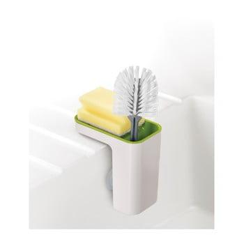 Recipient pentru detergenţi de vase Joseph Joseph Caddy SinkPod, alb - verde bonami.ro