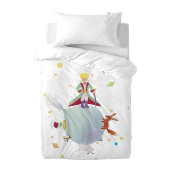 Husă pilotă și pernă din bumbac pentru copii Mr. Fox Le Petit Prince, 100x120cm bonami.ro