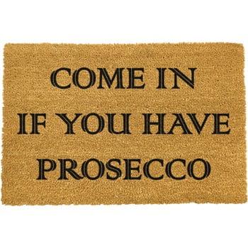 Covoraș intrare din fibre de cocos Artsy Doormats Prosecco, 40 x 60 cm poza bonami.ro