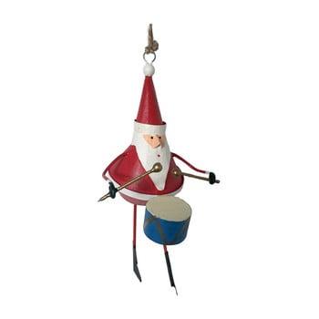 Decorațiune suspendată pentru Crăciun G-Bork Santa with Drum poza bonami.ro