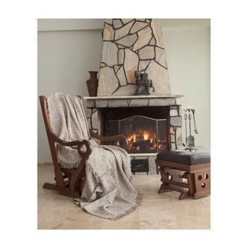 Pătură din bumbac Linen, 220 x 170 cm bonami.ro