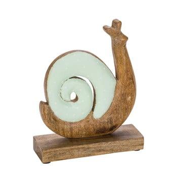 Decorațiune din lemn pentru Paște Ego Dekor Snail, verde poza bonami.ro