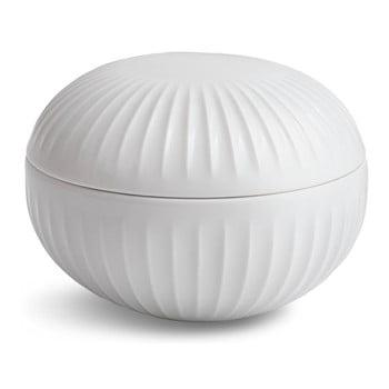 Bombonieră din porțelan Kähler Design Hammershoi, alb, ⌀ 11,5 cm bonami.ro