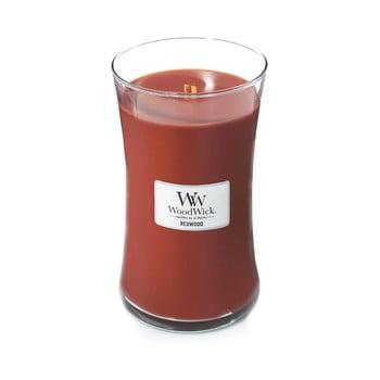 Lumânare parfumată WoodWick Lemn de santal, 110 ore bonami.ro