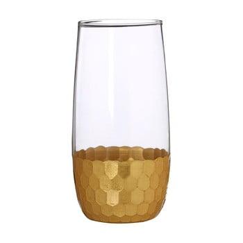 Set 4 pahare din sticlă suflată manual Premier Housewares Astrid, 4,8 dl bonami.ro