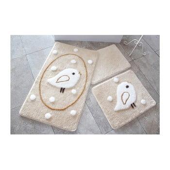 Set 3 covorase de baie Confetti Bathmats Rock