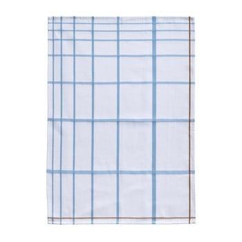 Prosop din bumbac pentru bucătărie Zone Garro, 50 x 70 cm, alb-albastru bonami.ro