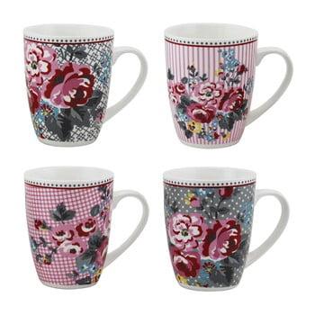 Set 4 căni din porţelan Premier Housewares Pippa Mugs poza bonami.ro