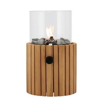 Lampă cu gaz Cosi Scoop Timber, înălțime 30 cm imagine