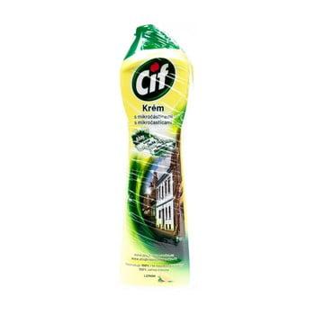 Soluție cremă de curățat pentru baie și bucătărie Cif Lemon, 500 ml poza bonami.ro