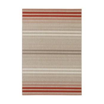 Covor de exterior Bougari Paros, 200 x 290 cm, crem - roșu imagine