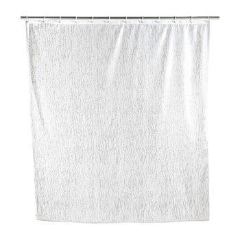Perdea duș Wenko Deluxe, alb poza bonami.ro