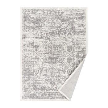 Covor reversibil Narma Palmse, 140 x 200 cm, alb imagine