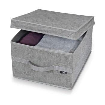 Cutie pentru depozitare Domopak Stone Large, 50x38cm, gri bonami.ro