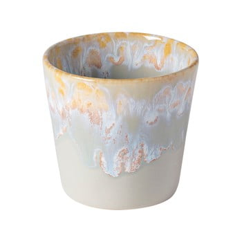 Ceașcă pentru espresso din gresie ceramică Costa Nova, 200 ml, bej - alb poza bonami.ro