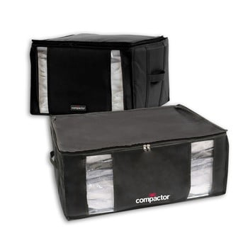 Set 2 cutii cu vid Compactor Black Edition XXL, 125 l, negru bonami.ro
