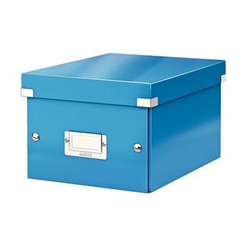 Cutie depozitare Leitz Universal, lungime 28 cm, albastru poza bonami.ro