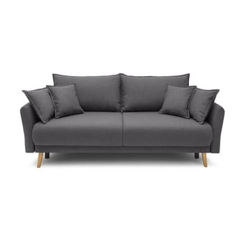 Canapea extensibilă Bobochic Paris Mia, gri închis bonami.ro