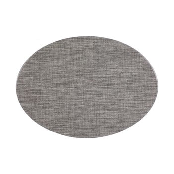 Suport pentru farfurie Tiseco Home Studio Oval, 46 x 33 cm, gri poza bonami.ro