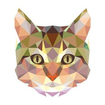 Autocolant Fanastick Origami Cat poza bonami.ro