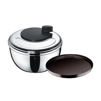 Centrifugă pentru salată din oțel inoxidabil Cromargan® WMF, înălțime 16 cm bonami.ro