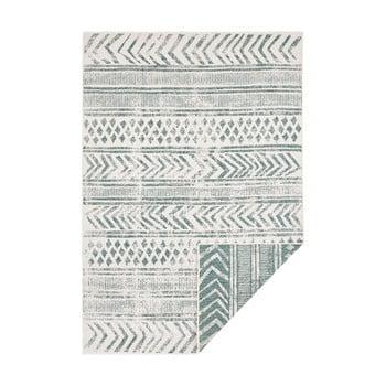 Covor adecvat pentru exterior Bougari Biri, 200 x 290 cm, verde-crem imagine