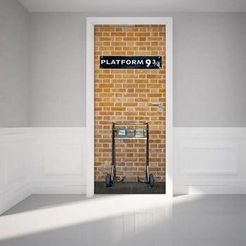 Autocolant adeziv pentru ușă Ambiance Harry Potter Platform, 83 x 204 cm bonami.ro