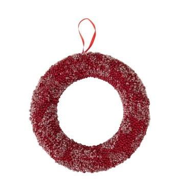 Coroniță pentru Crăciun J-Line Berries, roșu bonami.ro