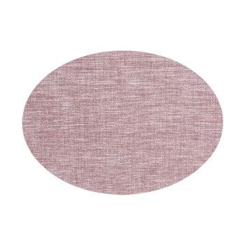 Suport pentru farfurie Tiseco Home Studio Oval, 46 x 33 cm, roz mov bonami.ro