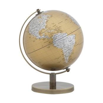 Decorațiune pentru masă Mauro Ferretti Globe, înălțime28cm, auriu-argintiu poza bonami.ro