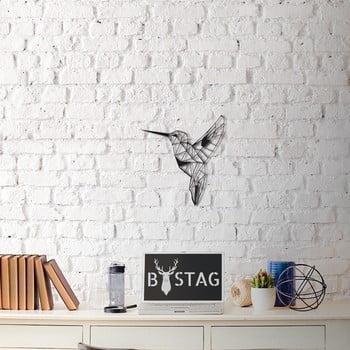 Decorațiune din metal pentru perete Hummingbird, 49 x 43 cm poza bonami.ro