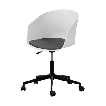 Scaun de birou cu roți Interstil MOON, alb imagine