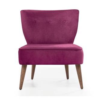Scaun tapiţat Balcab Home Molly, roz imagine