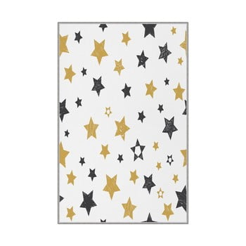 Covor antiderapant pentru copii Homefesto Stars,80x150cm bonami.ro