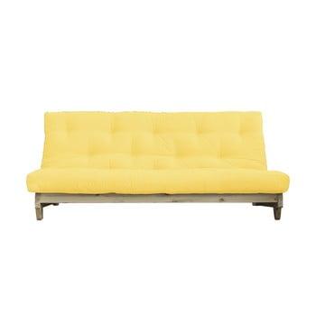 Canapea variabilă Karup Design Fresh Natural/Yellow imagine
