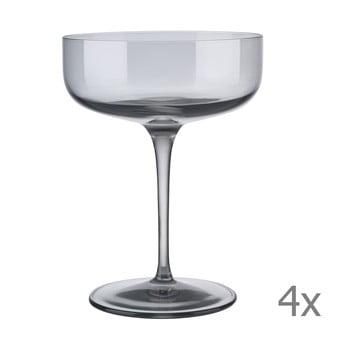 Set 4 pahare pentru șampanie Blomus Fuum poza bonami.ro