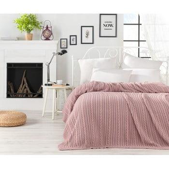 Cuvertură ușoară Camila, 220 x 240 cm, roz pudrat imagine