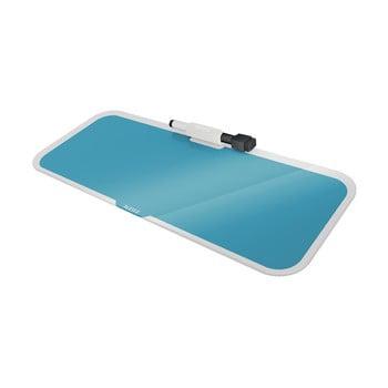Tablă din sticlă pentru notițe Leitz Cosy, albastru poza bonami.ro