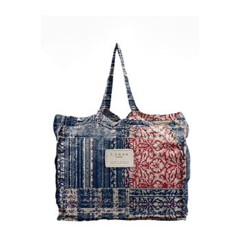 Geantă textilă Linen Batik, lățime 50 cm poza bonami.ro