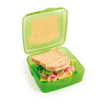 Cutie pentru sandwich Snips Sandwich, 500 ml, verde poza bonami.ro