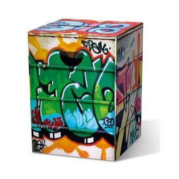 Taburet Remember Graffiti bonami.ro
